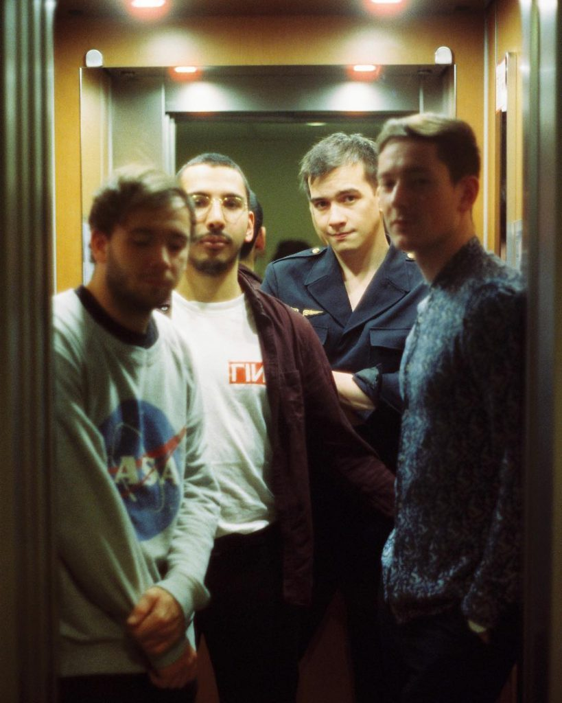 Berling Berlin, le groupe d'Indie Pop/Rock & Cold Wave dans l'ascenceur