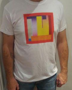 T-shirt blanc de Berling Berlin, merchandising, goodies disponible à l'achat