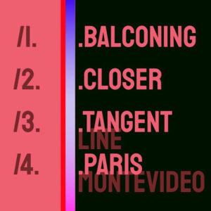 Les titres de l'EP Berling Berlin goodies et merchandising du groupe